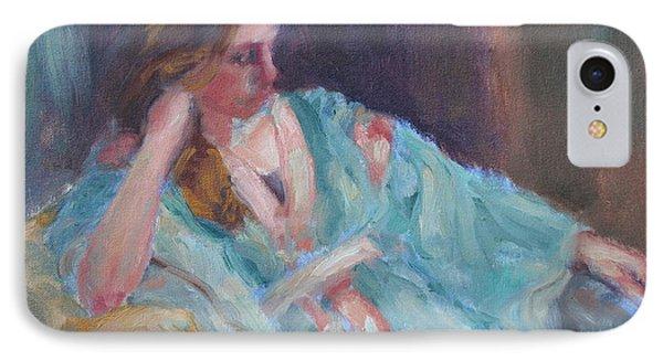 Inner Light - Original Impressionist Painting IPhone Case