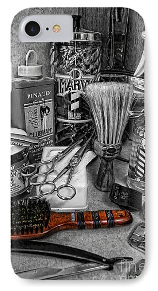 The Barber's Brush IPhone Case