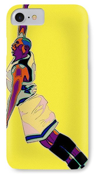 The Basketball Player IPhone Case