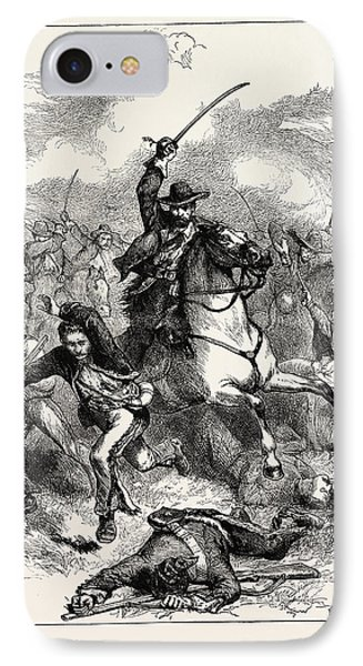 The Battle Of Buena Vista, Also Known As The Battle IPhone Case