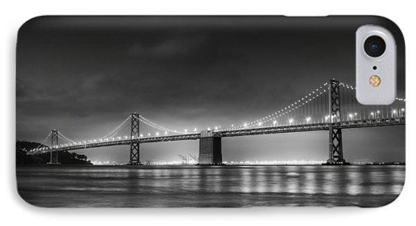 The Bay Bridge Monochrome IPhone Case