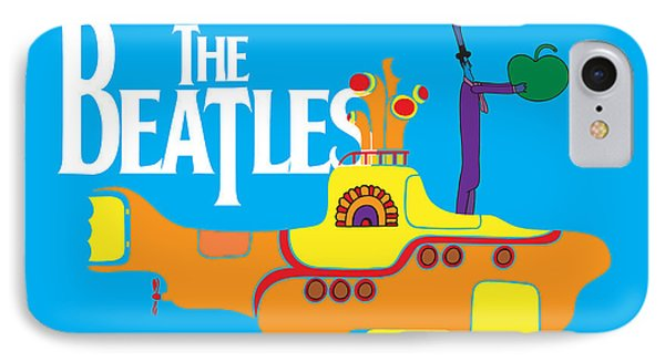 Music iPhone 8 Case - The Beatles No.11 by Geek N Rock