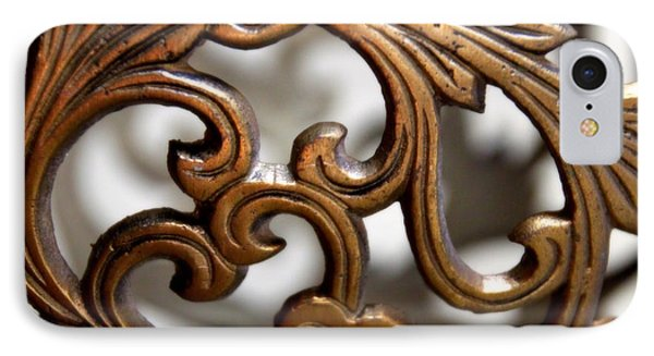 The Beauty Of Brass Scrolls 1 IPhone Case