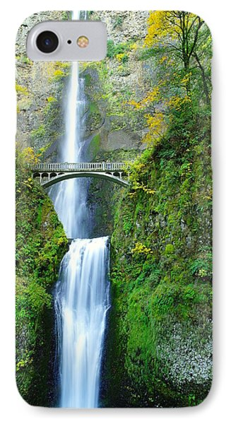 The Beauty Of Multnomah Falls IPhone Case
