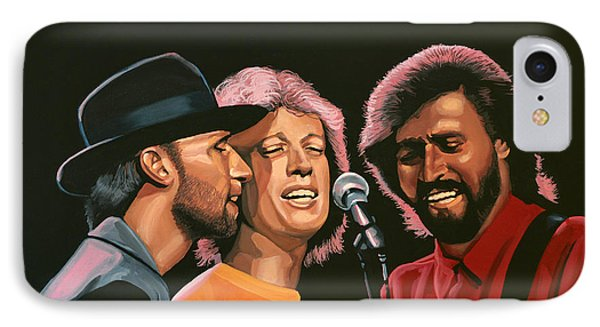 Rhythm And Blues iPhone 8 Case - The Bee Gees by Paul Meijering