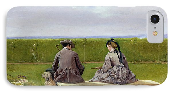 The Bench By The Sea IPhone Case