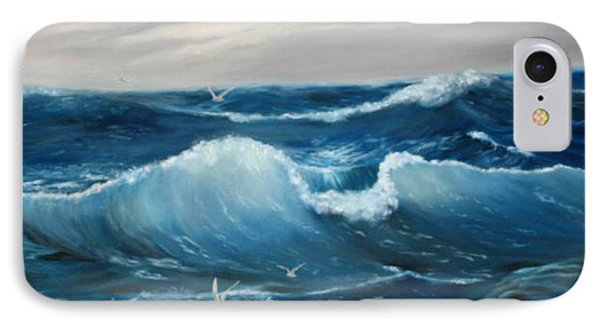 The Big Ocean IPhone Case