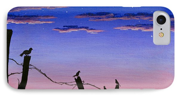 The Birds - Morning Has Broken IPhone Case