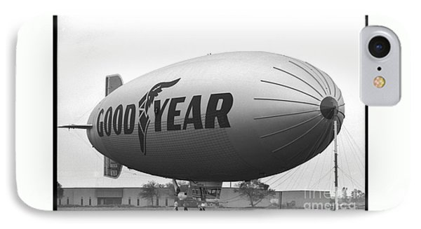The Goodyear Blimp In 1979 IPhone Case