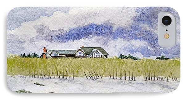 The Brown House On East Beach IPhone Case