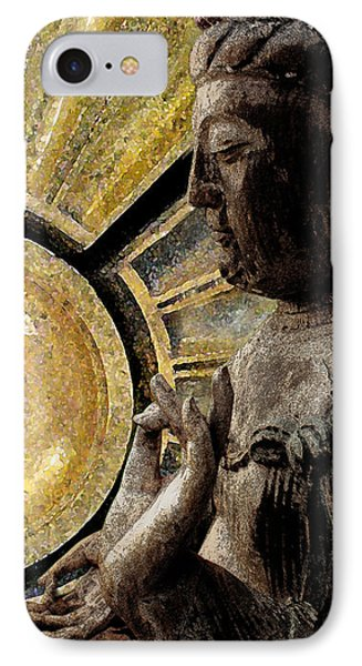the Buddha  c2014  Paul Ashby IPhone Case