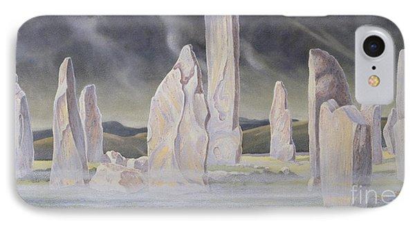 The Callanish Legend Isle Of Lewis IPhone Case