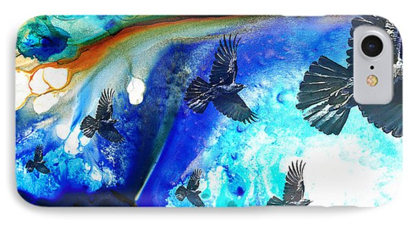 The Calling - Raven Crow Art By Sharon Cummings IPhone Case
