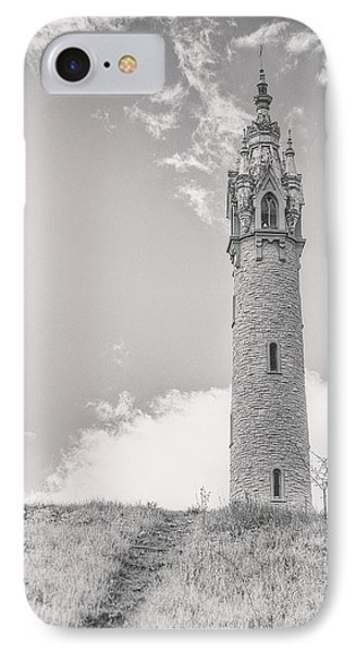 Castle iPhone 8 Case - The Castle Tower by Scott Norris
