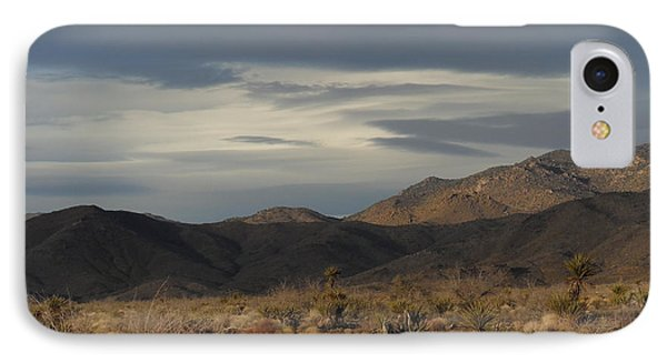 The Cerbat Mountains In Winter IPhone Case