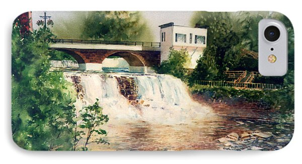 The Chagrin Falls In Summer IPhone Case