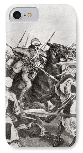 The Charge Of The 21st Lancers At Omdurman, Khartoum, Sudan During The Mahdist War In 1898.    From IPhone Case