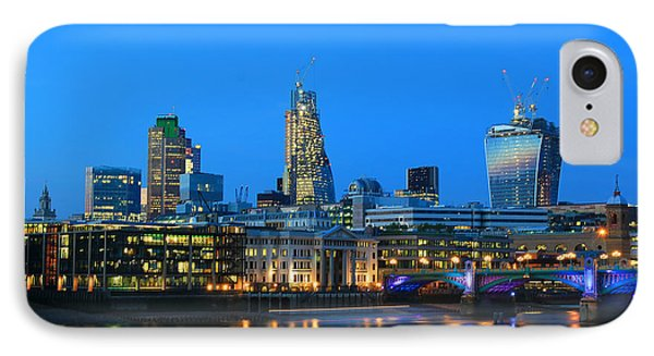 The Cheesegrater And The Walkie Talkie IPhone Case