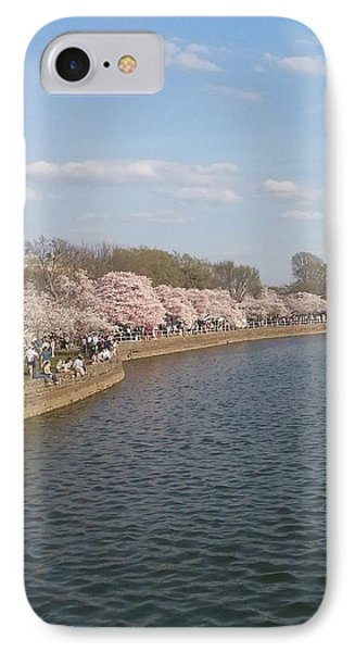 The Cherry Blossom Festival In D.  C IPhone Case