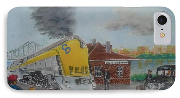The Chesapeake And Ohio George Washington At South Portsmouth Station IPhone Case