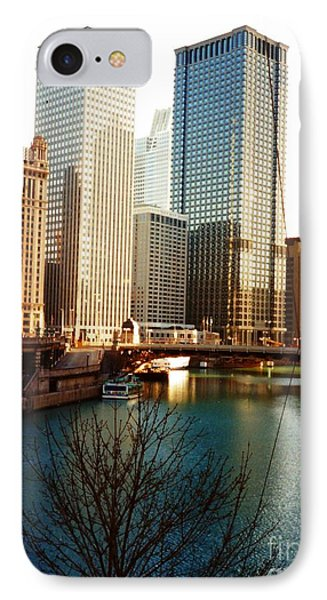The Chicago River From The Michigan Avenue Bridge IPhone Case