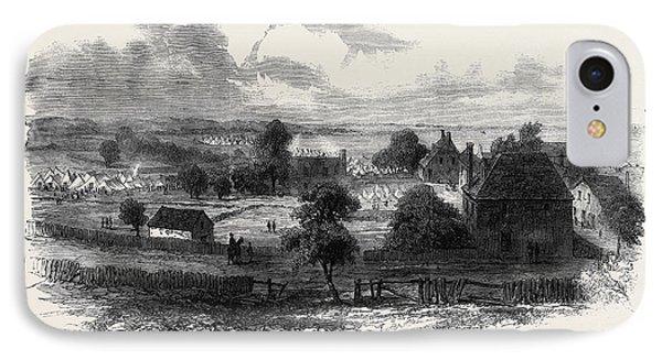 The Civil War In America View Of Yorktown Virginia IPhone Case