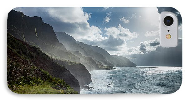 The Cliffs Of Kalalau IPhone Case