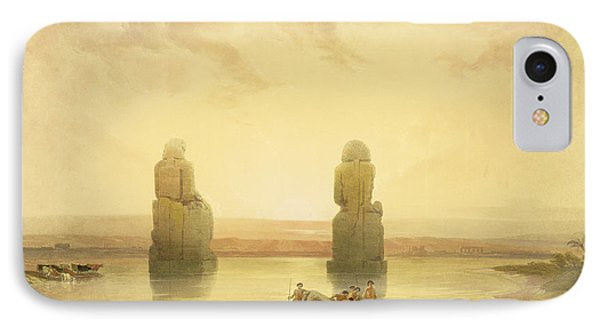 The Colossi Of Memnon IPhone Case