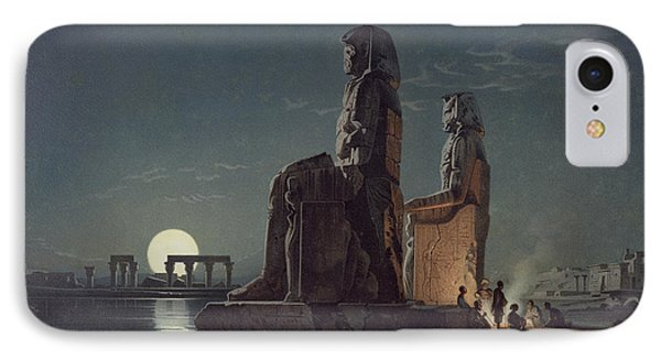The Colossi Of Memnon, Thebes, One IPhone Case