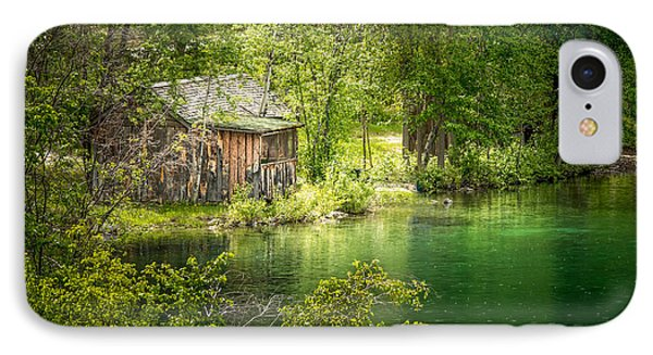 The Cottage By The Lake IPhone Case