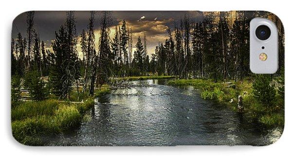The Deschutes River IPhone Case