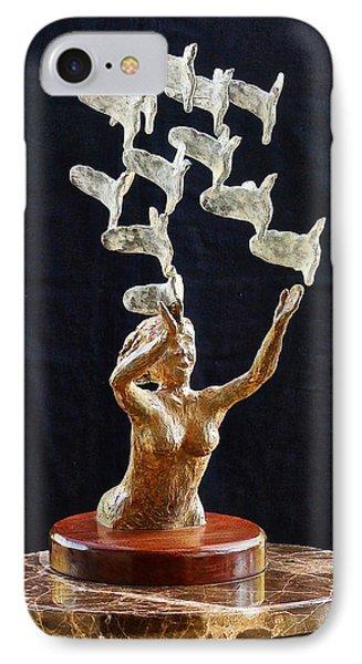 The Dove Maiden 2 IPhone Case