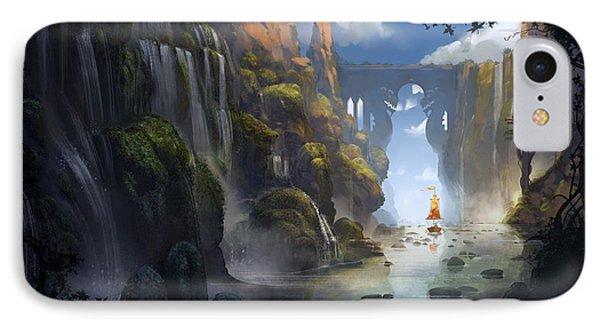 Dragon iPhone 8 Case - The Dragon Land by Kristina Vardazaryan