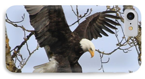 The Eagle Is Landing IPhone Case