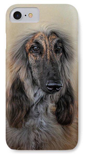 The Elegant Afghan Hound IPhone Case