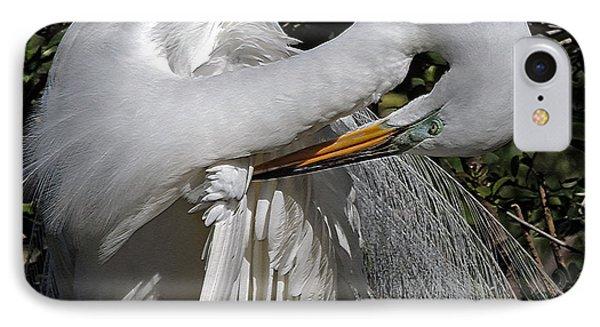 The Elegant Egret IPhone Case
