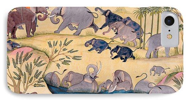 The Elephant Hunt IPhone Case