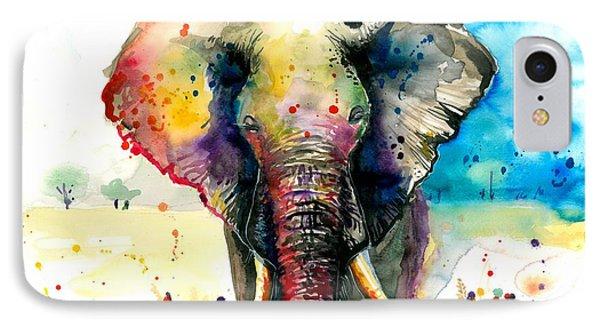 The Elephant - Xxl Format IPhone Case