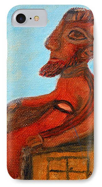 The Enthroned God Ares IPhone Case