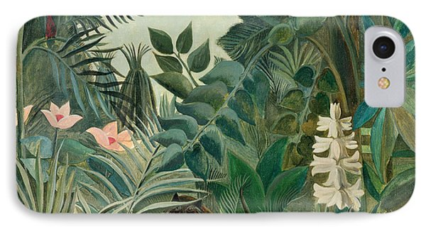 The Equatorial Jungle IPhone Case