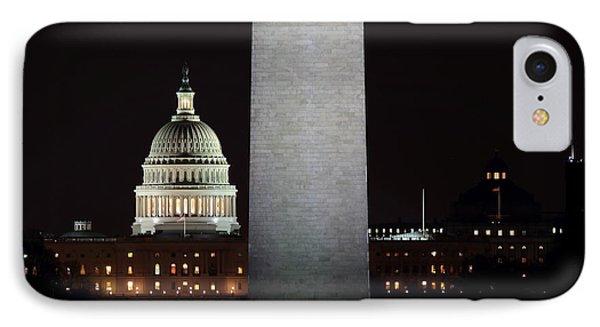The Essence Of Washington At Night IPhone Case