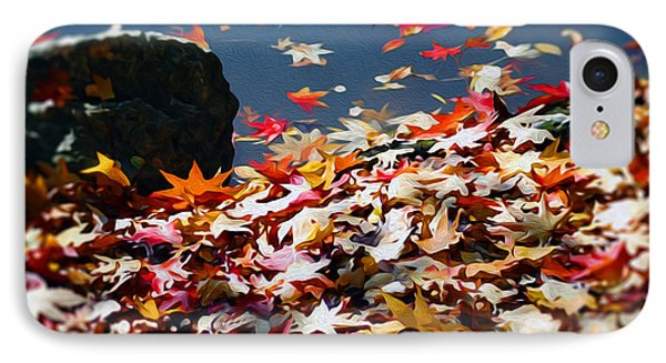 The Feeling Of Autumn IPhone Case