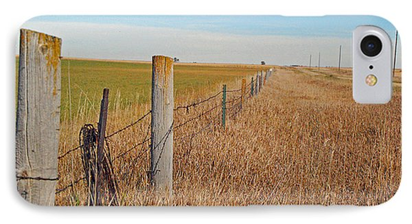 The Fence Row IPhone Case