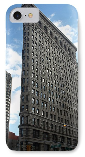 The Flatiron Building IPhone Case