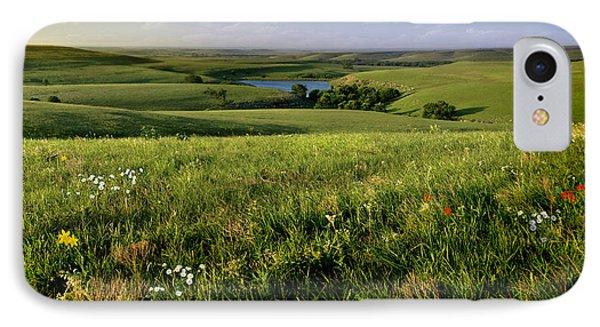 The Kansas Flint Hills From Rosalia Ranch IPhone Case