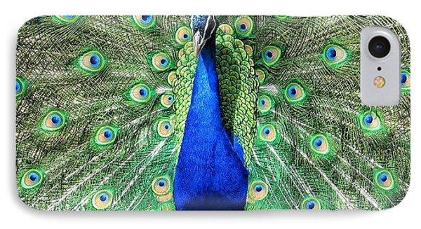 The Flirty Peacock IPhone Case