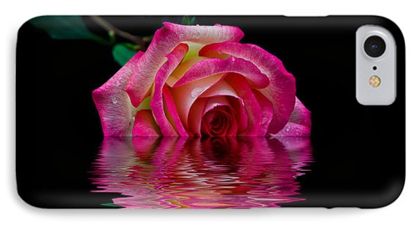 The Floating Rose IPhone Case