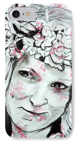 The Flower Girl IPhone Case