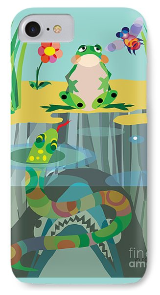 The Food Chain IPhone Case