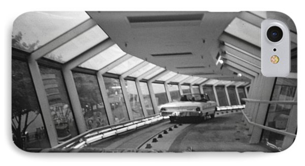 the Ford Rotunda Highway IPhone Case